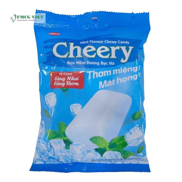 Bibica Chewy Candy Mint Flavor Cheery 90g