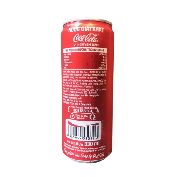 Coca Original Can 330ml