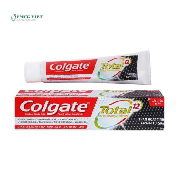 Colgate Total Charcoal Deep Clean 190g