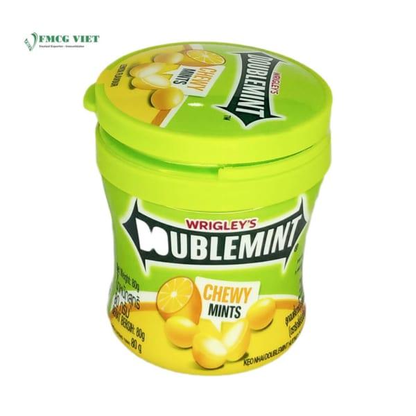 Doublemint Chewy Mints Lemon Flavor 80g