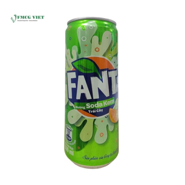 Fanta Cream Soda Can 330ml