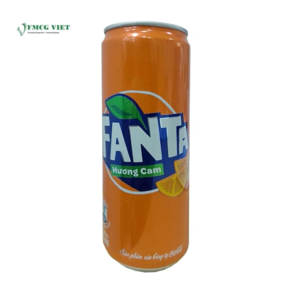 Fanta Orange Can 330ml
