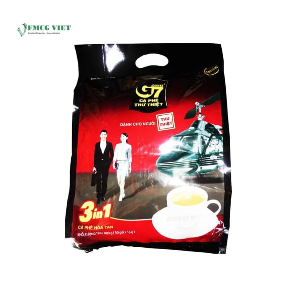 G7 Instant Coffee 3 In 1 - 50 Sachets