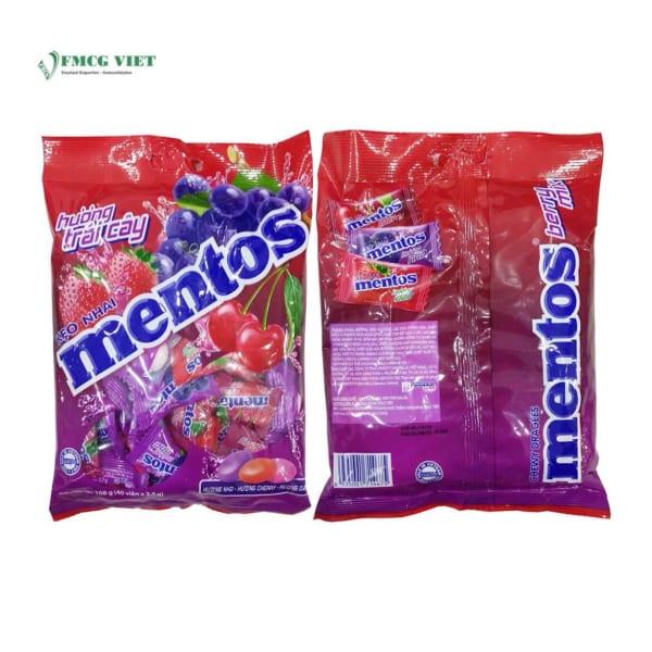 Mentos Mixed Flavour 108g - Grape - Cherry - Strawberry