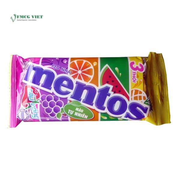 Mentos Pack 3 Rainbow Bag 90g