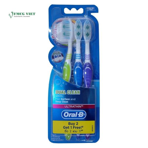 Oral B Dual Clean Toothbrush (Buy 2 Get 1 Free)