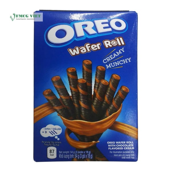 Oreo Wafer Roll Chocolate 54g
