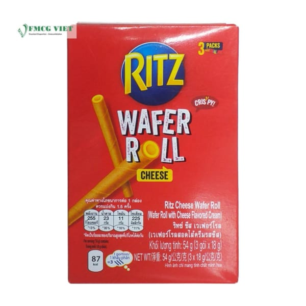 Ritz Wafer Roll Cheese 54g