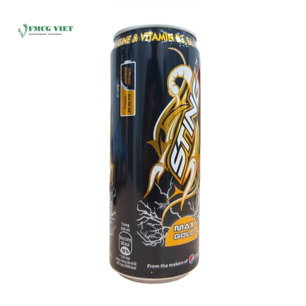 Sting Max Gold 330ml Can