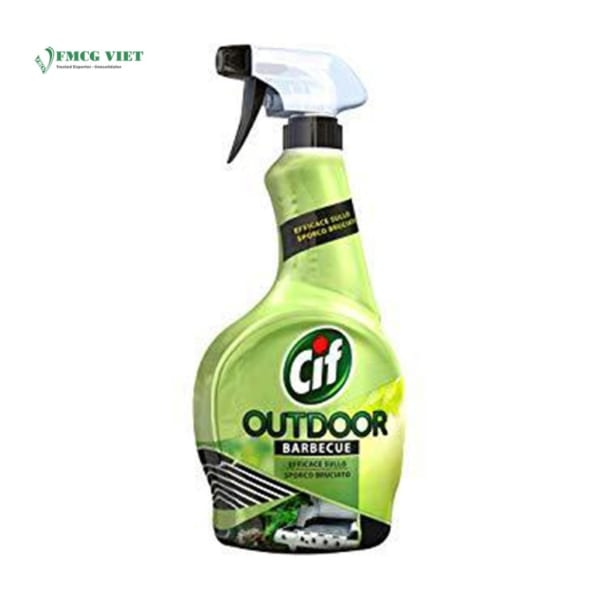 Cif Surface Cleaner Spray Bottle Outdoor Barbecue