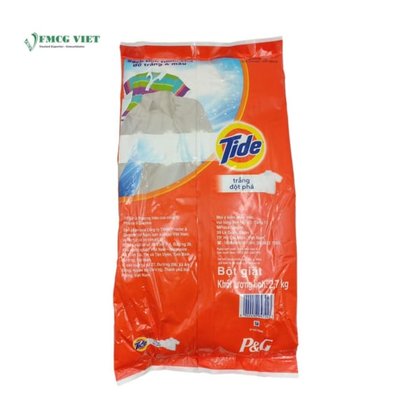 Tide Detergent Powder Breakthrough Whitening 2.7kg