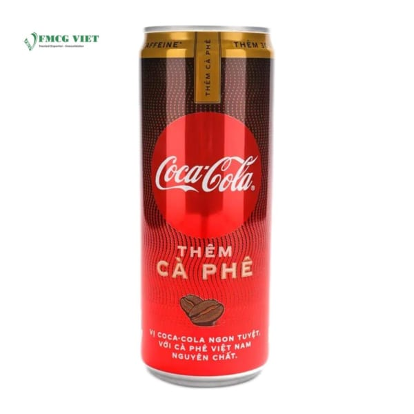 Coca Cola Soft Drink Coffee Flavor 330ml Can