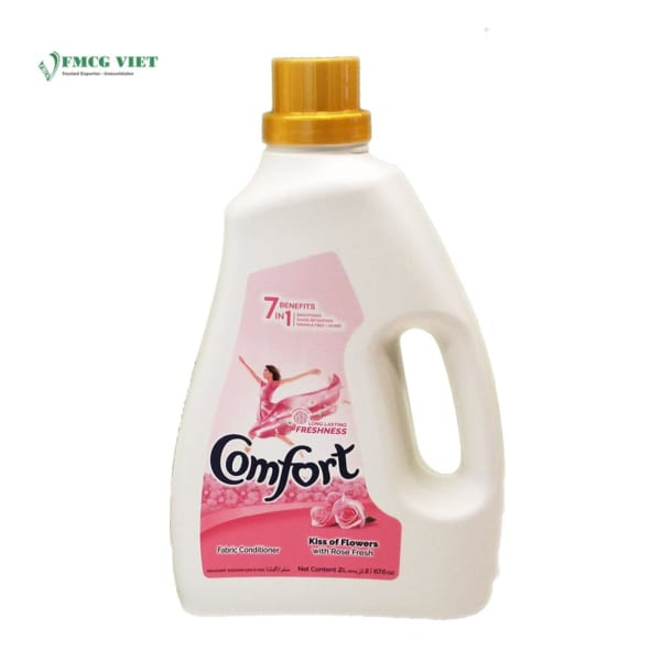 Comfort Fabric Softener Dilute Kiss Of Flowers 2l