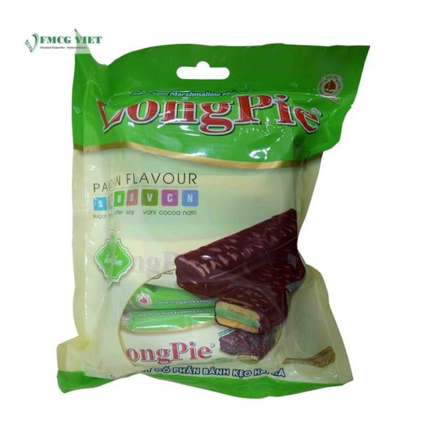 Hai Ha Pound Cake Longpie Pandan Flavor 216g Bag