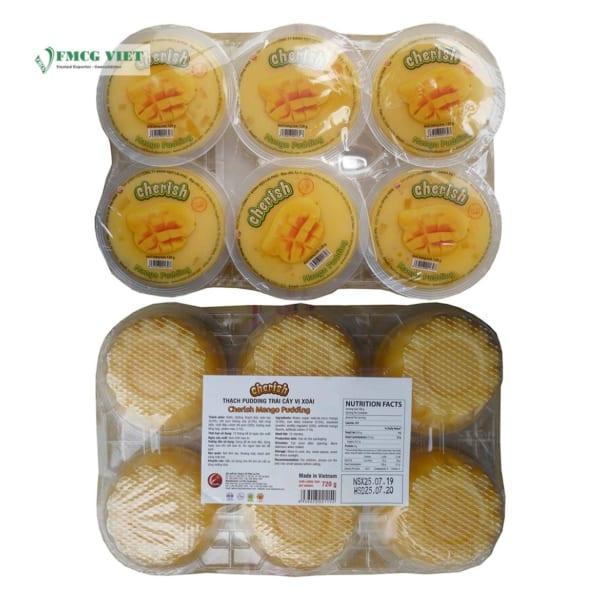 Lai Phu Cherish Mango Pudding 120g