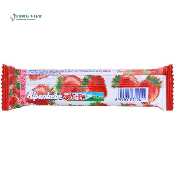 Alpenliebe Strawberry Flavor 2 Chew 24.5g