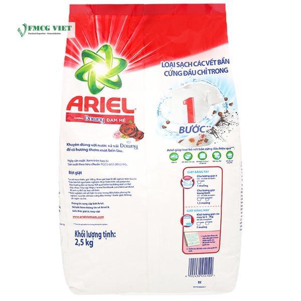 Ariel Detergent Powder Downy Passion Bag 2.5kg