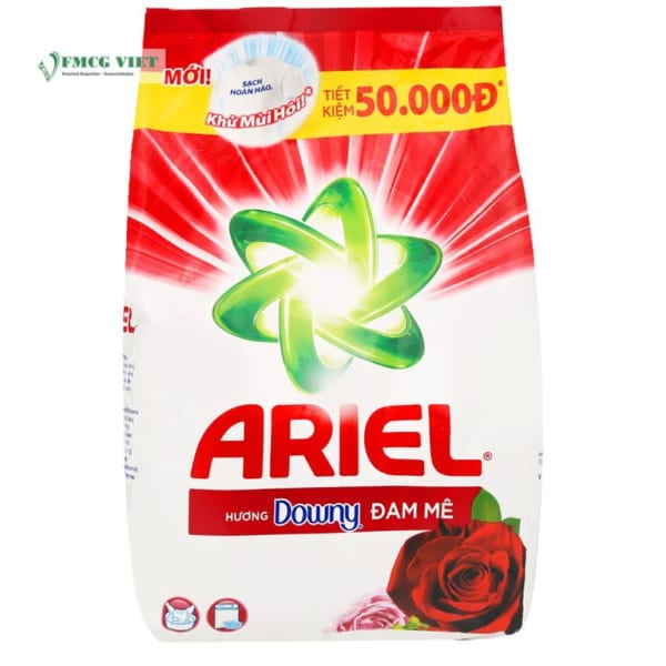 Ariel Detergent Powder Downy Passion Bag 3.8kg