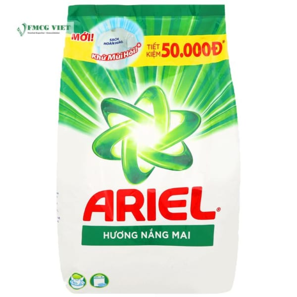 Ariel Detergent Powder Sunrise Fresh Bag 4.1Kg