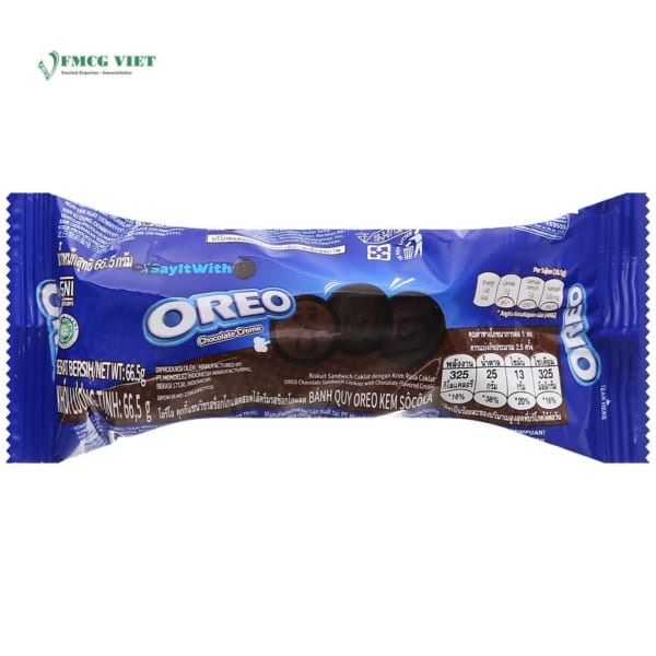 Oreo Chocolate Biscuits 66.5g