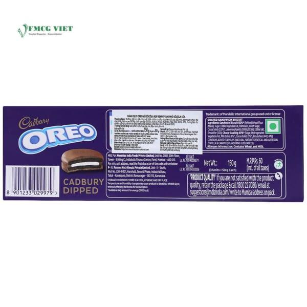 Oreo Cookie Cadbury Dipped 150g