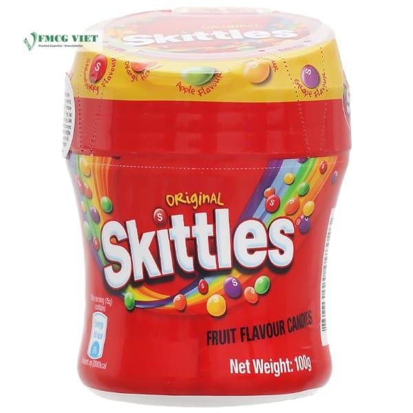 Skittles Original Juice Candy 100g Jar