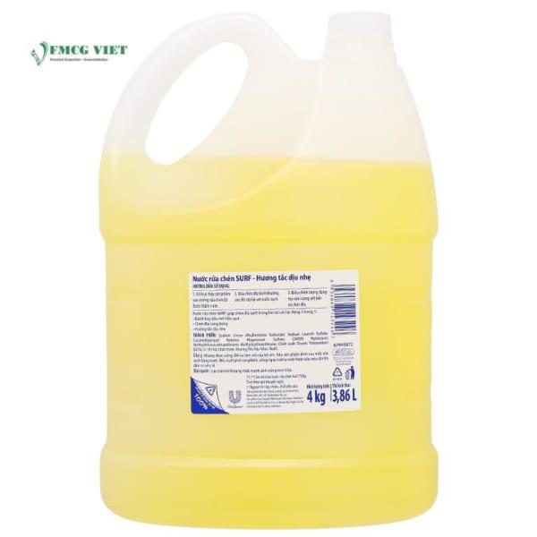 Sunlight Dishwashing Liquid Kumquat Fresh 3.86l