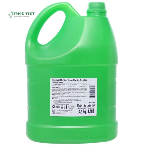 Sunlight Dishwashing Liquid Matcha 3.48l