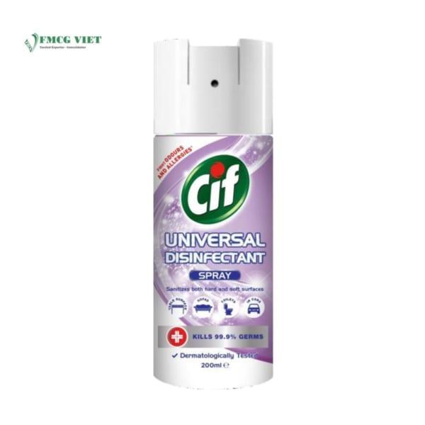 Cif All In 1 Disinfectant Aerosol Purple Spray 200ml