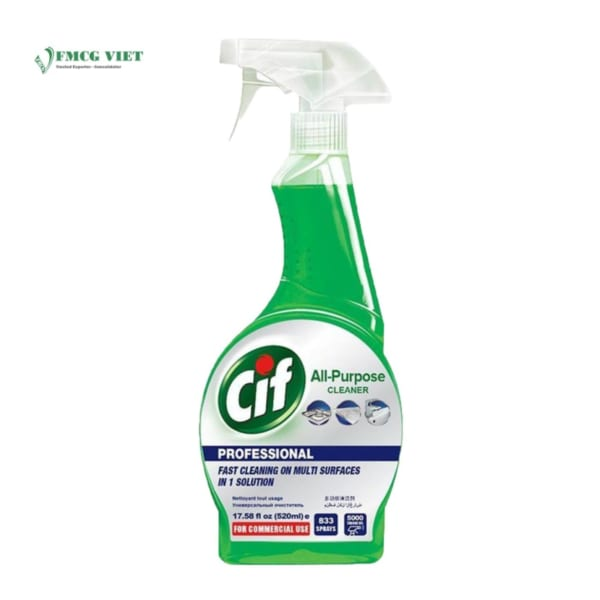 Cif Pro All Purpose Anti-Bacterial Spray 520ml
