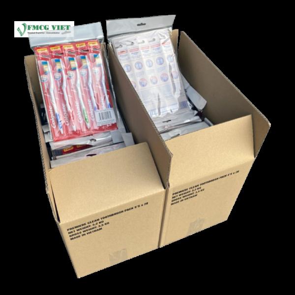Colgate Premier Clean Pack 5 Toothbrush