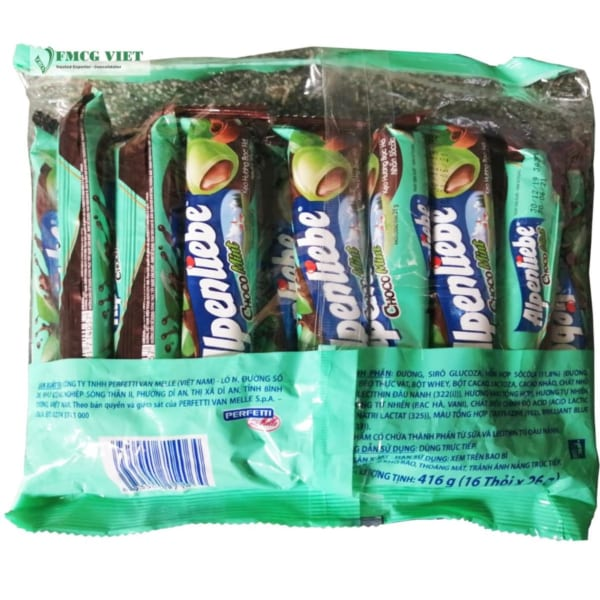 Alpenliebe Chocolate Mint Flavor Bag 512g