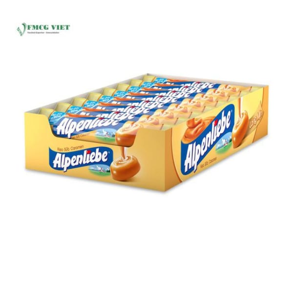 Alpenliebe Milk Caramen Flavor 512g