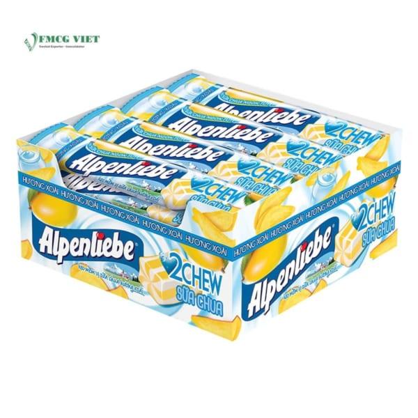 Alpenliebe Yoghurt Mango Flavor 2 Chew 512g