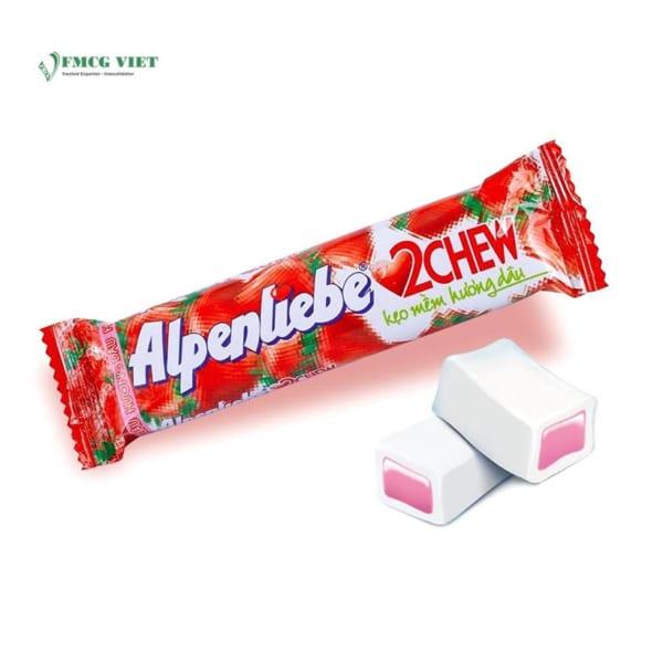Alpenliebe Yoghurt Strawberry Flavor 2 Chew 512g
