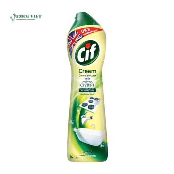 Cif Cream Micro Crystals Lemon 500ml