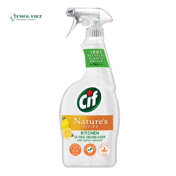 Cif Nature Recipe Kitchen Spray 750ml