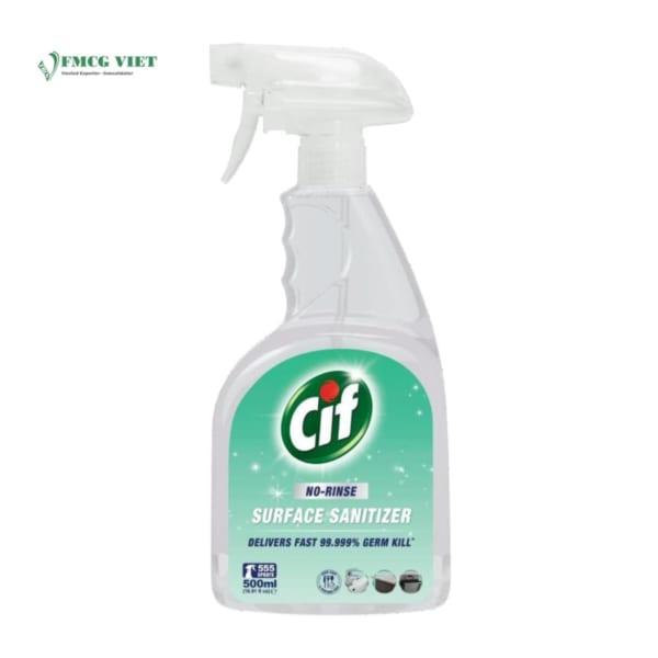 Cif No Rise Sanitiser Spray 500ml