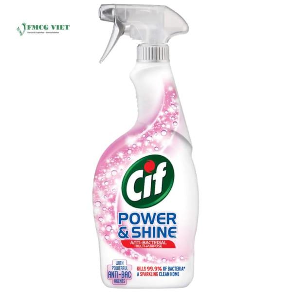 Cif Power & Shine Antibacterial Spray 500ml