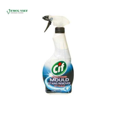 Cif Surface Cleaner Spray Bottle 435ml Professional Ultra Power Mould Stains Remover