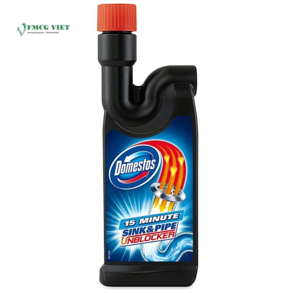 Domestos Pipe & Sink Unblocker 500ml