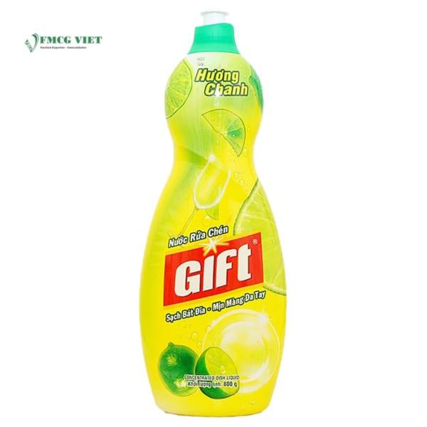 GIFT Dishwashing Liquid Lemon 800g