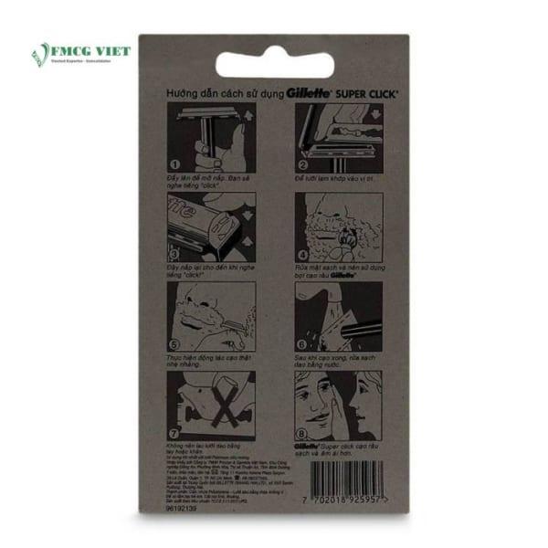 Gillette Super Thin 6pcs