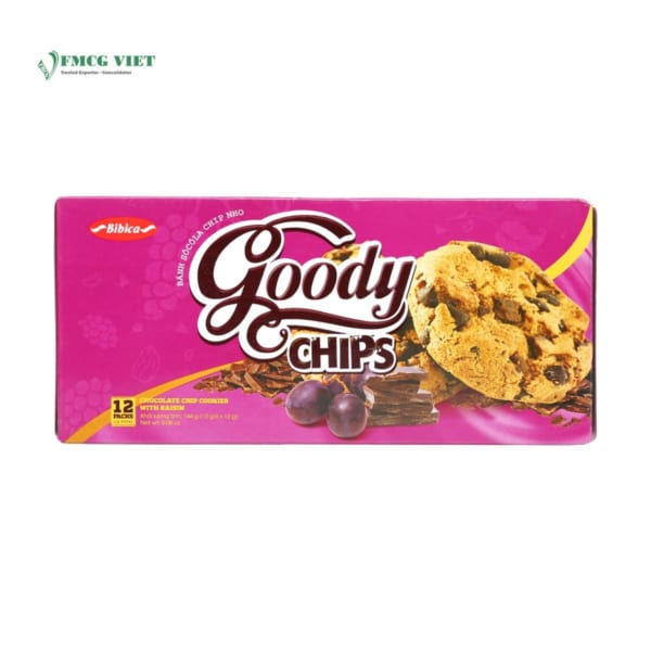 Goody Chocolate Chips Cookies With Raisin 144g