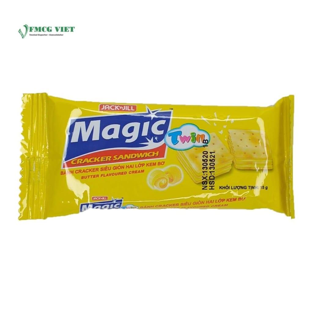 ? Magic Cracker Sandwich Butter Flavored Cream Box 300g Wholesale Export