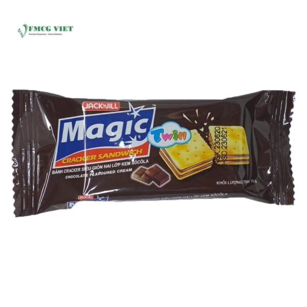 Magic Cracker Sandwich Chocolate Flavoured Cream Box 300g