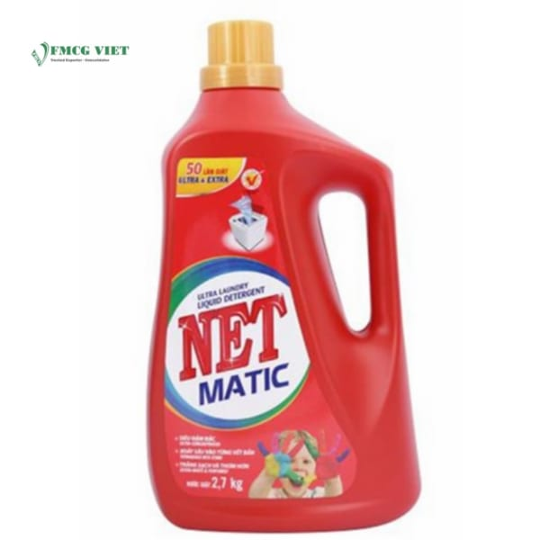 NET Detergent Liquid Matic 2.7kg