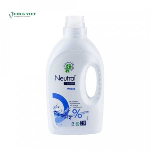 Neutral Laundry Detergent Liquid White 1.425l