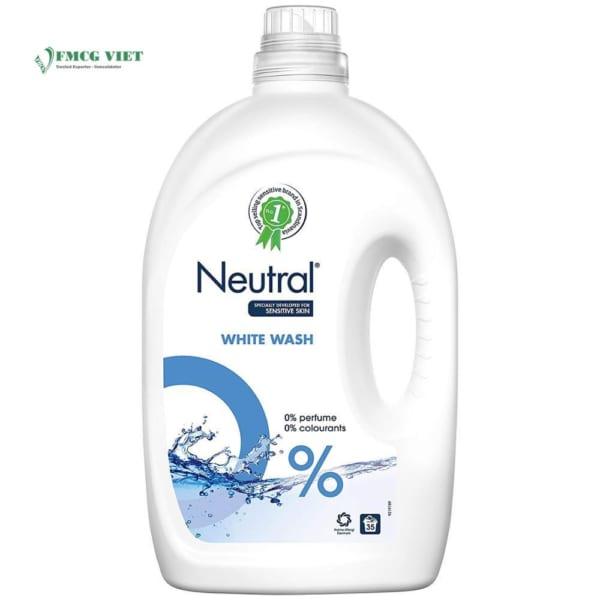 Neutral Laundry Detergent Liquid White 2.625l