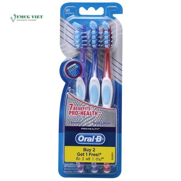 Oral B Ultra Soft Toothbrush (Buy 2 Get 1 Free)